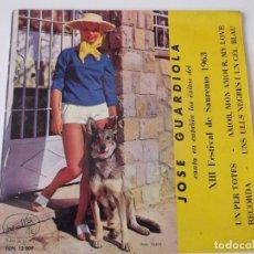Discos de vinilo: JOSE GUARDIOLA - UN PER TOTES. Lote 64338303