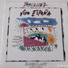 Discos de vinilo: JAMES LAST - BARCELONA. Lote 64351643
