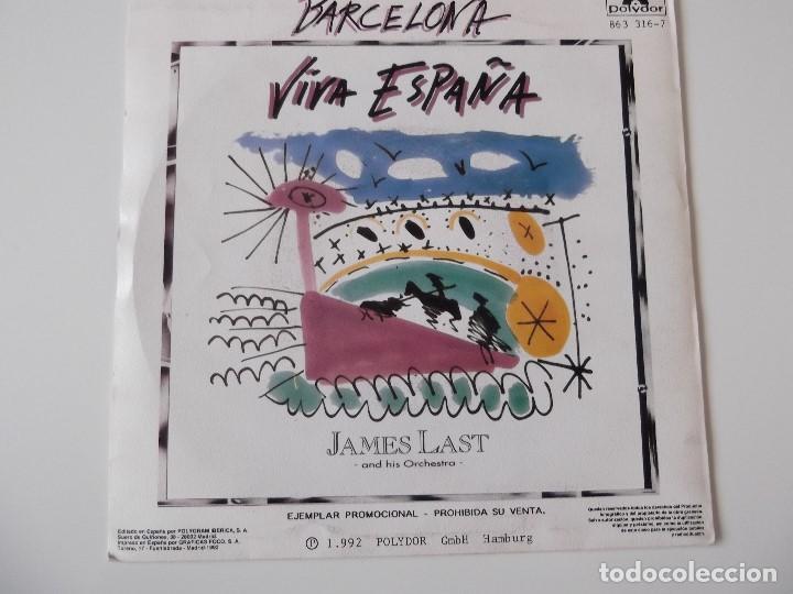Discos de vinilo: JAMES LAST - Barcelona - Foto 2 - 64351643