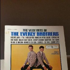 Discos de vinilo: THE VERY BEST OF THE EVERLY BROTHERS LP. Lote 64382247