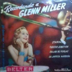 Discos de vinilo: BOBBY BYRNE Y SU ORQUESTA, LE PREMIER RENDEZ-VOUS, BELTER-50.176, BELTER-50176. Lote 64408943