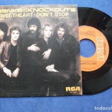 Discos de vinilo: FRANKE & THE KNOCKOUTS SWEETHEART SINGLE SPAIN 1981 PDELUXE. Lote 64420115