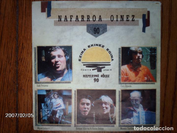 NAFARROA OINEZ - OSKORRI ETA LAGUNAK ( MIGUEL INDURAIN , I. PERURENA, CUCO ZIGANDA, DROGAS& AURORA) (Música - Discos - Singles Vinilo - Country y Folk)