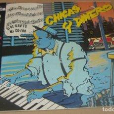 Discos de vinilo: LOS ELEGANTES - CHICAS Y DINERO - MAXI ZAFIRO - OOS-770 - ESPAÑA 1985. Lote 64436515