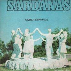 Discos de vinilo: SARDANAS - LA SARDANA DE LES MONJES / MAR DE TOSSA SINGLE DE 1971 RF-1459. Lote 64440355