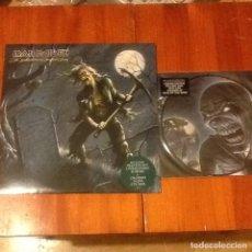 Discos de vinilo: IRON MAIDEN THE REINCARNATION OF BENJAMIN BREEG LP + DIFFERENT WORLD PICTURE VINYL. Lote 64450679