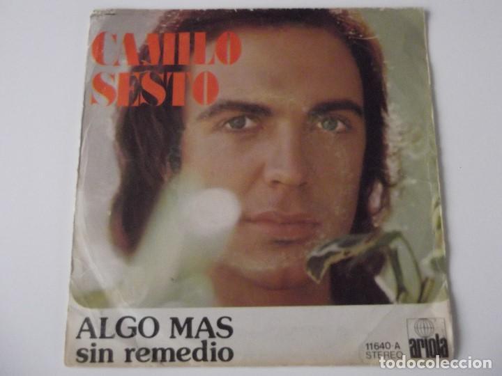 CAMILO SESTO - ALGO MÁS (Música - Discos - Singles Vinilo - Solistas Españoles de los 70 a la actualidad)