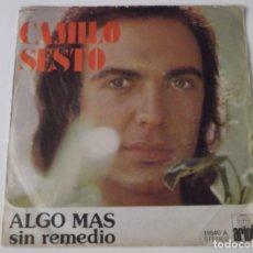 Discos de vinilo: CAMILO SESTO - ALGO MÁS. Lote 64452303