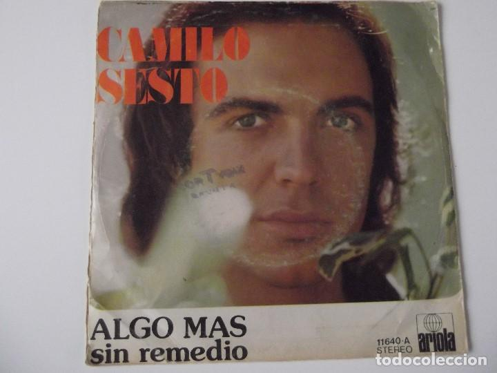 Discos de vinilo: CAMILO SESTO - Algo más - Foto 2 - 64452303