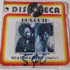 Discos de vinilo: BO KIRKLAND AND RUTH DAVIS - VAS A ESTAR A MI LADO. Lote 64460359