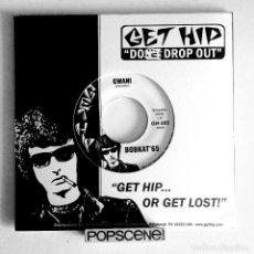 Discos de vinilo: BOBKAT'65 - SINGLE GWANI / TIME - GET HIP RECORDINGS.. Lote 67113503