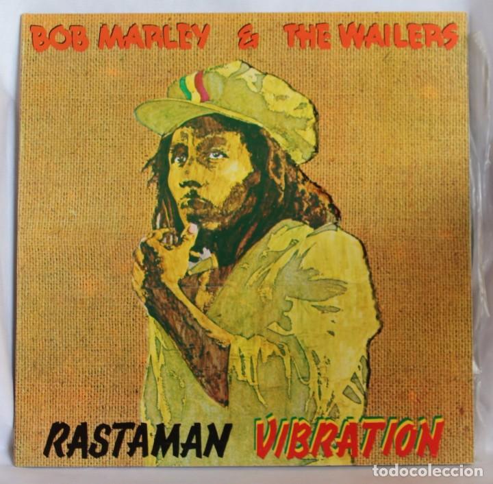 VINILO LP: BOR MARLEY & THE WAILERS -RASTAMAN VIBRATION- ISLAND RECORDS 1976. (Música - Discos de Vinilo - Maxi Singles - Reggae - Ska)