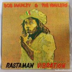 Discos de vinilo: VINILO LP: BOR MARLEY & THE WAILERS -RASTAMAN VIBRATION- ISLAND RECORDS 1976.. Lote 64474867