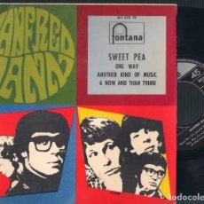 Discos de vinilo: MANFRED MANN - SWEET PEA + 3 - EP 1967 FONTANA EPL 465 388 TE. ED. ESPAÑOLA. Lote 64476707