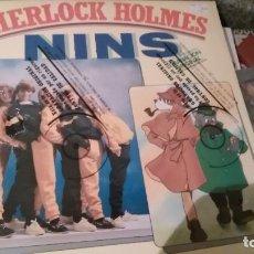 Discos de vinilo: GRUPO NINS LP SHERLOCK HOLMES.1986.PRECINTADO. Lote 269704253