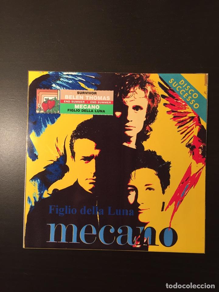 Mecano figlio della luna disco successo italia - Sold