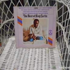 Discos de vinilo: KING CURTIS– THE BEST OF KING CURTIS.LP ORIGINAL USA 1968.SOUL FUNK . Lote 64509847