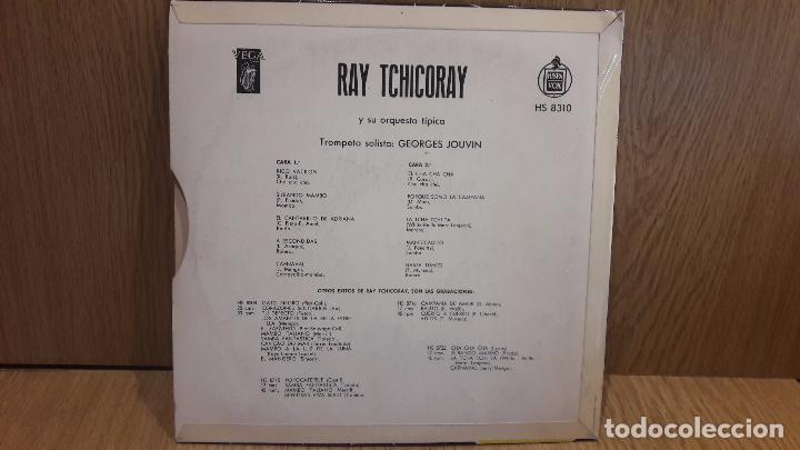 Discos de vinilo: 10 PULGADAS !! RAY TCHICORAY CON GEORGES JOUVIN. LP / VEGA-HISPAVOX - AÑOS 50 / MARCAS DE USO.***/** - Foto 2 - 64520339