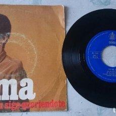 Discos de vinilo: GEMA: YO NO SÉ / AÚN SIGO QUERIENDOTE (HISPAVOX 1966). Lote 64522487
