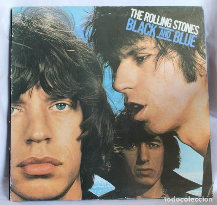 VINILO LP: THE ROLLING STONES -BLACK AND BLUE. EMI-ODEON 1979. (Música - Discos de Vinilo - Maxi Singles - Pop - Rock Extranjero de los 70)
