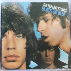 Discos de vinilo: VINILO LP: THE ROLLING STONES -BLACK AND BLUE. EMI-ODEON 1979.. Lote 64523523