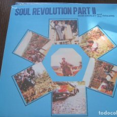 Discos de vinilo: BOB MARLEY & THE WAILERS - SOUL REVOLUTION PART II (1971) - LP REEDICIÓN BAD JOKER 2016 NUEVO. Lote 64536071