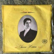 Discos de vinil: TREVOR HERION - KISS OF NO RETURN . SINGLE . 1983 ARIOLA . Lote 64541507