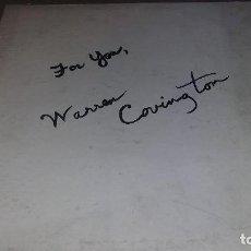 Discos de vinilo: WARREN COVINGTON FOR YOU. Lote 64542415
