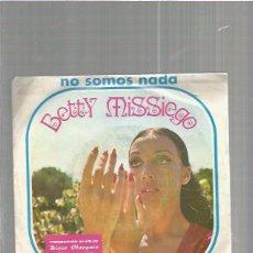 Discos de vinilo: BETTY MISSIEGO. Lote 64549271