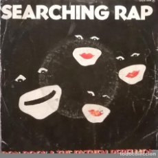Discos de vinilo: BON ROCK & THE RYTHEM REBELLION, SEARCHING RAP, ZAFIRO-00X-589. Lote 64555843
