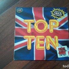 Discos de vinilo: TOP TEN-SOLO 1 VINILO. Lote 64571971