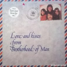 Discos de vinilo: BROTHERHOOD OF MAN, LOVE AND KISSES FROM BROTHERHOOD OF MAN, PYE RECORDS-NSPL 18490. Lote 64572027