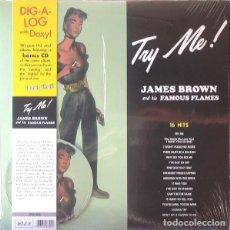 Discos de vinilo: LP JAMES BROWN AND HIS FAMOUS FLAMES TRY ME! VINILO +CD . Lote 64577151
