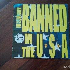 Discos de vinilo: THE LUKE FEATURING THE 2 LIVE CREW-BANNED IN THE USA.MAXI ESPAÑA. Lote 64581223