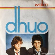 Discos de vinilo: DHUO - WALKIN' . SINGLE . 1984 ARIOLA . Lote 64581395