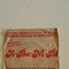Discos de vinilo: IZHAR COHEN AND ALPHA BETA - 1º EUROVISION 1978. Lote 64585423