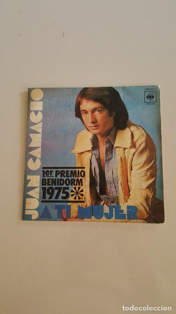JUAN CAMACHO - 1º PREMIO FESTIVAL BENIDORM 1975 (Música - Discos - Singles Vinilo - Otros Festivales de la Canción)