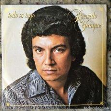 Discos de vinilo: RICARDO YUNQUE - TODO ES TUYO . SINGLE . 1980 MOVIEPLAY . Lote 64585647