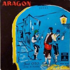 Discos de vinilo: JOSE OTO CON RONDALLA.ARAGON. JOTAS.EP. Lote 64606715