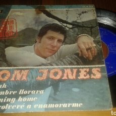 Discos de vinilo: TOM JONES:DELILAH/UN HOMBRE LLORARA/I'M COMING HOME/NUNCA VOLVERÉ A ENAMORARME (EP.1968.DECCA). Lote 64620305