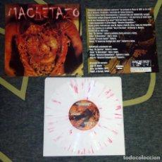 Discos de vinilo: MACHETAZO - REALMENTE DISFRUTO COMIENDO CADAVERES - 10'' [FUDGEWORTHY RECORDS, 1999]. Lote 74105637