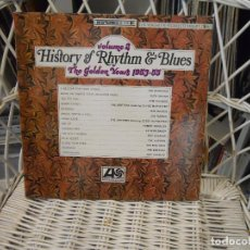 Discos de vinilo: VARIOUS?–HISTORY OF RHYTHM & BLUES- VOLUME 2:THE GOLDEN YEARS 1953-55.LP EDICION USA 1968.. Lote 64632195