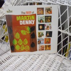 Discos de vinilo: MARTIN DENNY – THE BEST OF MARTIN DENNY.LP ORIGINAL USA 1961.SELLO LIBERTY.EXOTICA. Lote 64632631