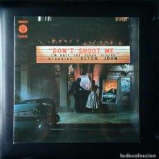 Discos de vinilo: ELTON JOHN - DON'T SHOOT ME, I'M ONLY THE PIANO PLAYER. ZAFIRO 1976. VINILO EDICIÓN ESPAÑOLA. Lote 64651835