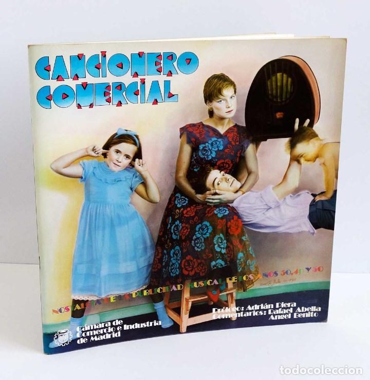 LIBRO CANCIONERO COMERCIAL - NOSTALGIA DE LA PUBLICIDAD MUSICAL DE LOS AÑOS 30, 40 Y 50 (Música - Discos - LP Vinilo - Otros estilos)