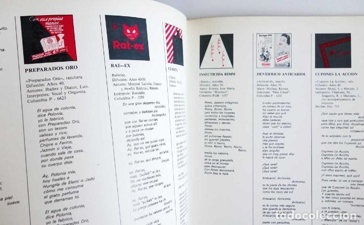 Discos de vinilo: LIBRO CANCIONERO COMERCIAL - Nostalgia de la Publicidad Musical de los años 30, 40 y 50 - Foto 6 - 78605709
