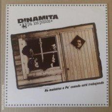 Discos de vinilo: NO MOLESTES A PA' CUANDO ESTÁ TRABAJANDO, DE DINAMITA PA LOS POLLOS. EP EN VINILO DE 12'' (1987). Lote 64665019
