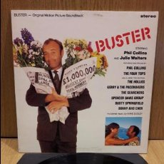 Discos de vinilo: B.S.O. / BUSTER - PHIL COLLINS / JULIE WALTERS. LP / WARNER - 1988 / MBC. ***/***. Lote 64678107