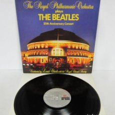 Discos de vinilo: THE BEATLES - 20 TH ANNIVERSARY / THE ROYAL PHILHARMONIC ORCHESTRA PLAYS LP ARIOLA 1983 SPAIN PROMO. Lote 64688903