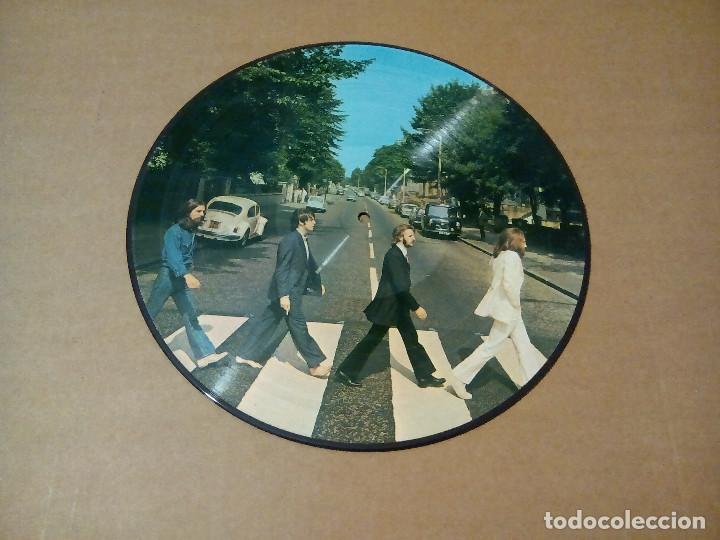 THE BEATLES - ABBEY ROAD (LP PICTURE DISC) (Música - Discos - LP Vinilo - Pop - Rock Extranjero de los 50 y 60)